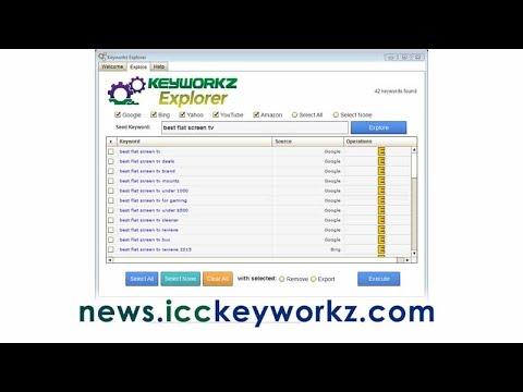 Google Adwords Keyword Finder - Viral Video Curator Pro