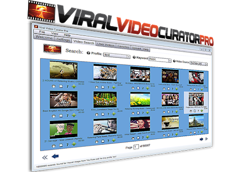 Viral Video Curator Pro Software - Free Download